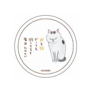 犬と猫どっちも飼ってると毎日たのしい 吸水コースター 猫|princesscafe