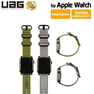 UAG社製 AppleWatchバンド用 44&42mm NATO UAG-AWLNシリーズ アップルウォッチ ベルト バンド 腕時計 レディース メンズ おしゃれ Series 6 SE対応|PrincetonDirect PayPayモール店