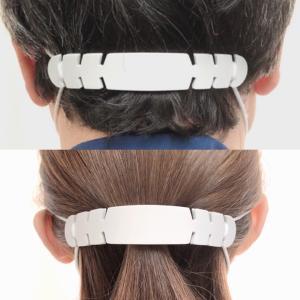 マスク イヤーガード 耳ガード 耳の痛み緩和 シリコンゴム アイスグレー|print-kura