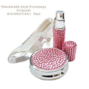 SWAROVSKI one Color アトマイザー&Lサイズ ラウンド lケース セット ギフトラッピング無料|printemps410