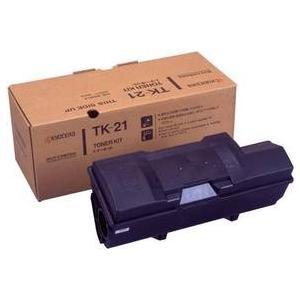 LS-6820N用トナーカートリッジ TK-21 2本セット 純正品 訳あり特価品(箱にダメージあり...