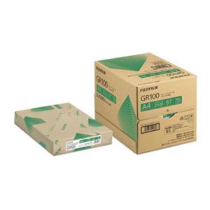 A4リサイクルコピー用紙 GR100 2500枚/5冊/箱 ZGAA1285 富士フィルムBI|printry