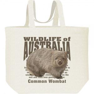 ヒメ ウォンバット(オーストラリアの生物)/キャンバスバッグ・L エコバッグ|prints