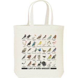 キャンバスバッグ・M 鳥のリスト トートバッグ|prints
