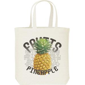 パイナップル(果物シリーズ)/キャンバスバッグ・M トートバッグ|prints