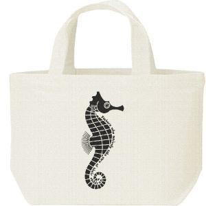 タツノオトシゴ(お父さんは育メン)/キャンバスバッグ・S ランチバッグ|prints