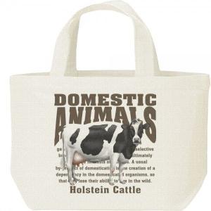 ホルスタイン牛(乳牛)/飼育動物・家畜/キャンバスバッグ・S ランチバッグ prints