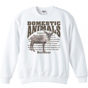 トナカイ/飼育動物・家畜/トレーナー|prints