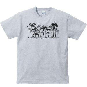 椰子(ヤシ)の木林/半袖Tシャツ   prints