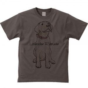 Tシャツ ラブラドール レトリバー(クレヨンタッチ)犬 半袖|prints|04