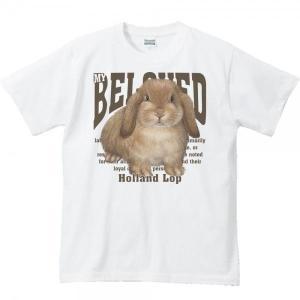 ホーランド ロップ イヤー(兎)ウサギ(ペット シリーズ)/半袖Tシャツ  |prints