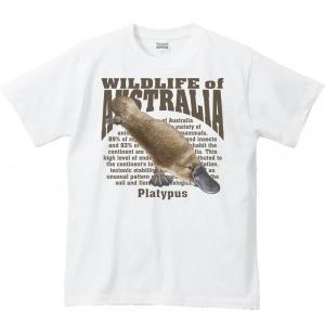 カモノハシ(オーストラリアの生物)/半袖Tシャツ  |prints