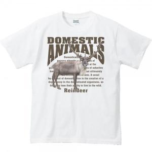 トナカイ/飼育動物・家畜/半袖Tシャツ  |prints
