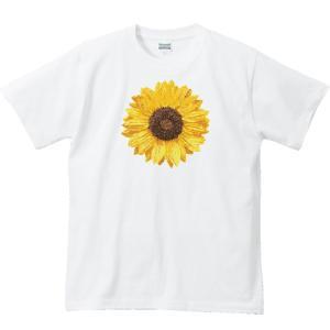 向日葵(ヒマワリ)/半袖Tシャツ   prints