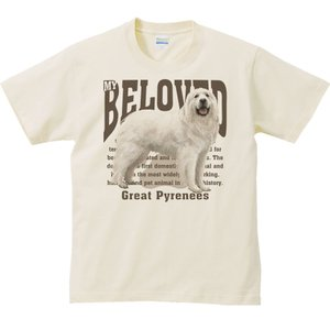 グレート ピレニーズ(愛犬シリーズ)/半袖Tシャツ  |prints|02