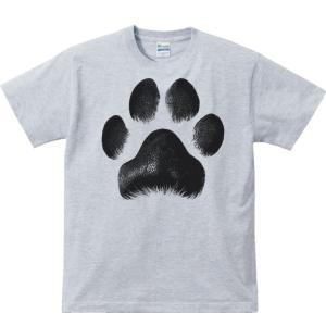 犬の肉球/半袖Tシャツ  |prints