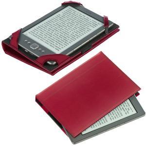 M-Edge Bennett Jacket Kindle Paperwhite/Kobo Touch用高級PUレザーケース ラズベリー (sb) printus 04