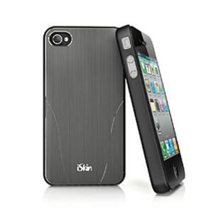 iSkin ハードケース aura for iPhone4/4S グレー ARIPH4-GY1|printus