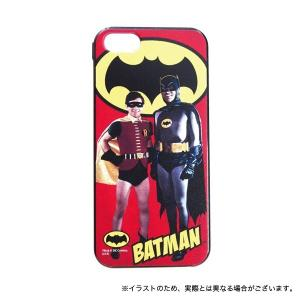 バットマン クラシックTVシリーズ iPhoneSE(第1世代)/5S/5対応シェルジャケット バットマン&ロビン|printus