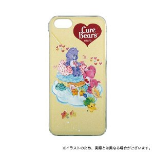 ケアベア iPhoneSE(第1世代)/iPhone5S/iPhone5対応シェルジャケット クリーム|printus