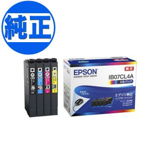 EPSON 純正インク IB07 インクカートリッジ 4色セット IB07CL4A printus