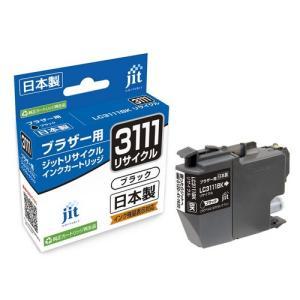日本製 JIT ブラザー用 LC3111BK リサイクルインク ブラック printus