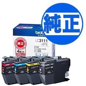 ブラザー工業(Brother) 純正インク LC3111インクカートリッジ 4色パック LC3111-4PK 4色セット|printus