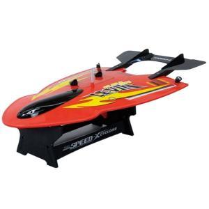 潜水機能搭載超ハイスピードRCボート Levin レビン レッド (sb) (メール便不可)(送料無料)