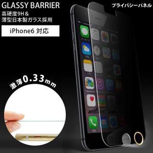 iPhone6用 ガラスパネル (プライバシー) &「iFinger」セット MS-I6G9H-PY-F (sb) プライバシーパネル printus