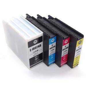 IB02 増量 エプソン用 互換 インクカートリッジ 顔料4色セット QR-IB02B-4CL 増量顔料4色セット|printus