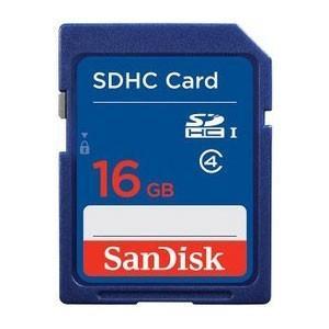 SanDisk(サンディスク) SDHCカード 16GB Class4 (英語パッケージ)|printus