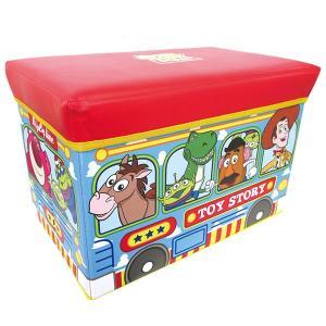 トイ・ストーリーストレージBOX 座れる収納ボックス ディズニー/収納/椅子/おもちゃ箱【ラッピング不可】|pripar