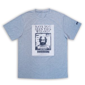 ハリーポッターTシャツ(シリウス・ブラック)【ラッピング不可】【自】 Harry potter/gryffindor/シンボル/服/グレー/ハリポタ|pripar