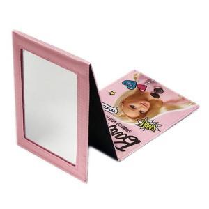 Barbie バービー折り畳みミラー スタンドミラー コンパクトミラー 鏡 生活雑貨|private-stage|03