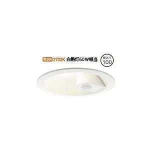 DDL-5394YW 大光電機 人感センサ付ダウンライト 軒下使用可 DDL5394YW