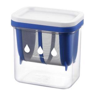 水切り ヨーグルトができる 容器 レシピ付