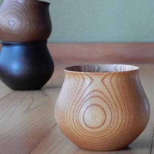 コーヒーカップ 木の器 山中漆器 安清式 ナチュラル