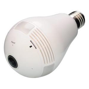 (送料無料・代引不可)DAITOKU(ダイトク) グランシールド 360°Wi-Fi電球型カメラ Dive-y360 GS360-LED (L)|pro-shimizu