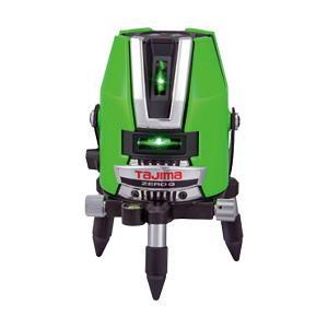 (送料無料・代引不可)タジマ レーザー墨出し器 グリーンレーザー ZERO G ゼロジーKY 本体・受光器・三脚付 ZEROG-KYSET (L)|pro-shimizu
