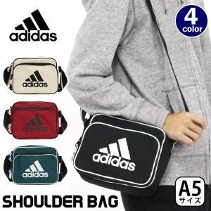 大人気ブランド「adidas」のシンプルなデザインにアディダスのビッグロゴがポイントになった横型ショ...
