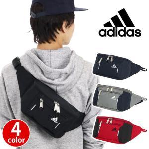 ウエストバッグ adidas アディダス ボディバッグ ウエストポーチ ワンショルダー ボディーバッグ 斜め掛け メンズ レディース 旅行 レジャー フェス アウトドア|pro-shop