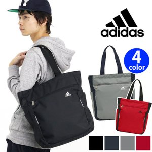 大人気ブランド【adidas】からデイリーに使えるとトートバッグが登場! 開口部はファスナー式で開閉...