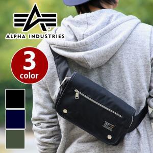 ALPHA INDUSTRIES アルファ ボディバッグ インダストリーズ ウエストバッグ 12699101 alpha-017