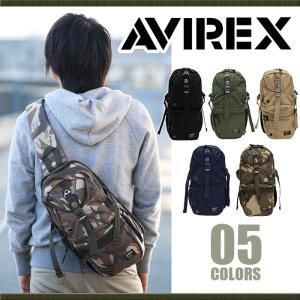 ボディバッグ AVIREX アヴィレックス アビレックス ボディーバッグ イーグル ワンショルダー 送料無料 メンズ レディース ブランド 旅行 レジャー アウトドア|pro-shop
