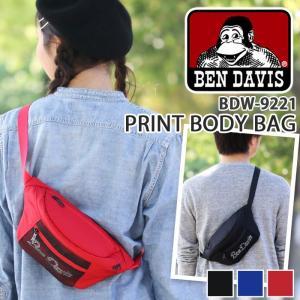 ボディバッグ BEN DAVIS ベンデイビス 送料無料 正規品 ウエストバッグ ウエストポーチ ボディーバッグ メンズ レディース 男女兼用 セール|pro-shop