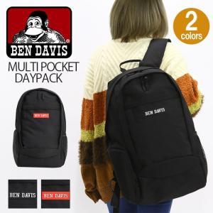 b525c4eedc6d リュックサック BEN DAVIS ベンデイビス リュック マルチポケット デイパック バックパック クールポケット メンズ レディース 男女兼用  ブランド