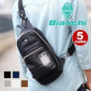 ボディバッグ Bianchi(ビアンキ) ボディーバッグ ワンショルダー ウエストバッグ メンズ レディース 男女兼用 ブランド おしゃれ 旅行 レジャー フェス|pro-shop