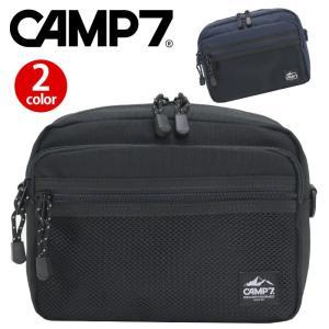 ショルダーバッグ CAMP7 キャンプセブン スクエア レディース メンズ A5 サブバッグ ポーチ バッグインバッグ レジャー アウトドア|pro-shop