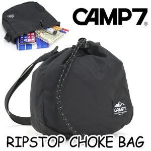 ショルダーバッグ ミニ CAMP7 キャンプセブン 巾着 チョークバッグ サブバッグ ツーリング サイクリング 斜めがけ メンズ レディース 男女兼用 ブランド|pro-shop