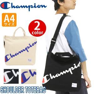 大人気ブランド「champion」からブランドビッグロゴがポイントのショルダートートが登場! カジュ...